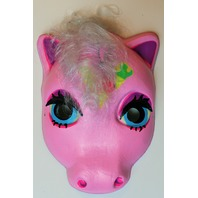 Vintage My Little Pony  Halloween Mask Pink Ice Cream Plastirama Hasbro Bradley Rare Import