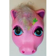 Vintage My Little Pony  Halloween Mask Pink Ice Cream Plastirama Hasbro Bradley Rare Import