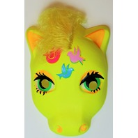 Vintage My Little Pony  Halloween Mask Yellow Birds Plastirama Hasbro Bradley Rare Import