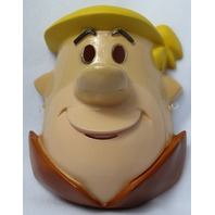 Vintage The Flintstones Barney Rubble Halloween Mask 1990's Hanna Barbera