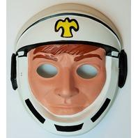 Vintage Astronaut Halloween Mask Cosmonaut Spacesuit NASA 1980's 80's