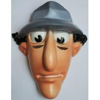 Vintage Inspector Gadget Halloween Mask 80's Cartoon 1983 Festa Detective Mod