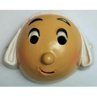 Vintage Becassine Halloween Mask 1980's 80's 1985 Cesar Costume Rare Import