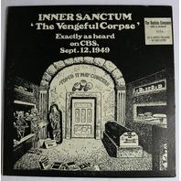 Vintage The Vengeful Corpse Limited Edition Record Radiola Horror Radio Broadcast