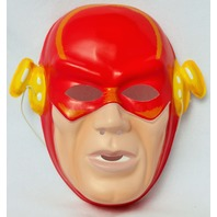 Vintage DC Comics The Flash Halloween Mask 1991 Costume Comic Book
