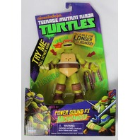 Teenage Mutant Ninja Turtles Power Sound FX Michelangelo Action Figure TMNT Toy