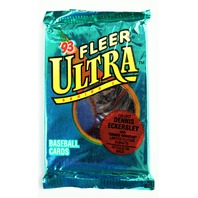 Vintage 1993 Fleer Ultra Baseball Trading Cards MLB Wax Pack 93 Series 1 Collect