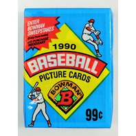 Vintage 1990 Bowman Baseball Trading Cards MLB 90 Pack