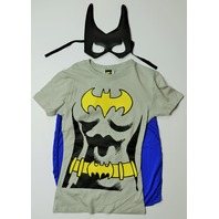 Batgirl Halloween Tshirt Costume with Mask Batman Child Size Large