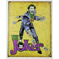 The Joker Tin Sign DC Comics Suicide Squad Batman Villian Comic Books D53