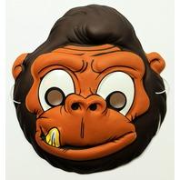 Vintage Gorilla Halloween Mask Topstone Monkey Kong Ape Primate FF25