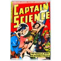 Captain Science Comic Book FRIDGE MAGNET Sci Fi Pulp Fiction Space Pin Up Girl