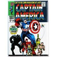 Captain America No. 1 FRIDGE MAGNET Marvel Comics Super Hero Vintage Style D18