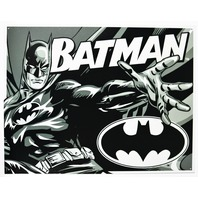 Batman Tin Metal Sign DC Comics Comic Book Hero Dark Knight Joker