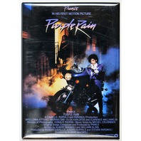 Purple Rain Movie Poster FRIDGE MAGNET Prince Vintage Movie Classic