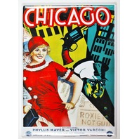 Chicago Musical Movie Poster FRIDGE MAGNET Vintage Style