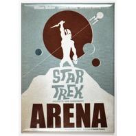 Star Trek Arena FRIDGE MAGNET Movie Poster Mr Spock Captain Kirk J16