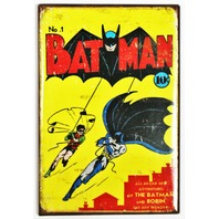 Batman no.1 FRIDGE MAGNET Vintage Style Comic Book DC Comics Robin