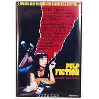 Pulp Fiction Movie Poster FRIDGE MAGNET Tarantino Travolta Crime Film