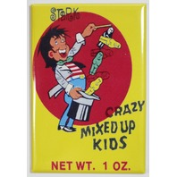 Stark Crazy Mixed Up Kids FRIDGE MAGNET Vintage Style Ad Candy