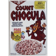Count Chocula Cereal Box FRIDGE MAGNET Vintage Style Chocolate Marshmallow Vamp