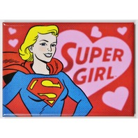 Supergirl FRIDGE MAGNET DC Comics Justice League Comic Book Hero Superman Heart