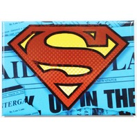 Superman Logo FRIDGE MAGNET DC Comics Justice League Clark Kent