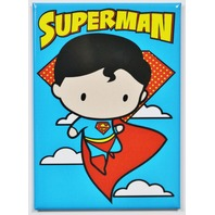 Superman FRIDGE MAGNET DC Comics Justice League Cartoon Meme