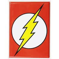 The Flash Logo FRIDGE MAGNET DC Comics Justice League Cartoon Comic Book Hero