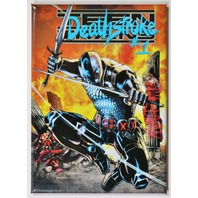 Deathstroke  FRIDGE MAGNET DC Comics Star Arrow