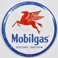 Mobilgas Socony Vacuum Pegasus Gasoline FRIDGE MAGNET Gas Oil Mechanic Garage Exxon