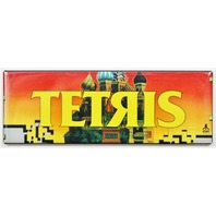 Atari Tetris Arcade Marquee FRIDGE MAGNET Video Game Vintage Style 1980's
