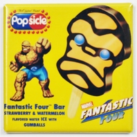 Fantastic Four Thing Popsicle bar Fridge Magnet Marvel Comics