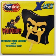 X-Men Wolverine Popsicle bar Fridge Magnet Marvel Comics Logan