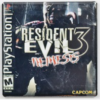 Playstation Resident Evil 3 Nemesis Fridge Magnet Capcom Video game