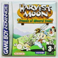Nintendo Game Boy Advance Harvest Moon Friends of Mineral Town Fridge Magnet Video game