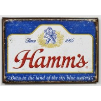 Hamms Beer FRIDGE MAGNET Brewery Label AD Bar Alcohol Bar Pub Lion King Sword i7