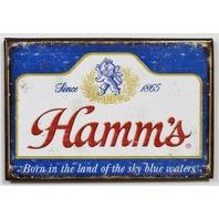 Hamms Beer FRIDGE MAGNET Brewery Label AD Bar Alcohol Bar Pub Lion King Sword