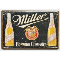 Miller Brewing Company FRIDGE MAGNET Beer Brewery Label Bar Alcohol L3