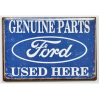 Genuine Ford Parts FRIDGE MAGNET F Series Truck Mustang Garage