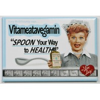 I Love Lucy Spoon Your Way To Health FRIDGE MAGNET Classic Comedy TV