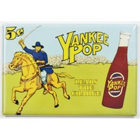 Yankee Pop Leads The Way FRIDGE MAGNET Soda Cola AD Union Soldier Civil War