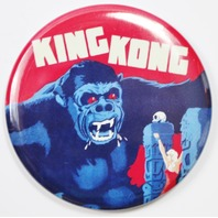 King Kong Movie Poster FRIDGE MAGNET Monster Film Theater Decor Horrow 2 1/4""