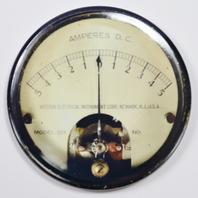 "Western Electrical Steampunk Gauge FRIDGE MAGNET Meter Vintage Style 2 1/4"" Round"