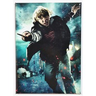 Harry Potter Ron Weasley FRIDGE MAGNET Deathly Hollows Wizard Muggle M17