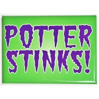 Harry Potter Stinks Gryffindor FRIDGE MAGNET Wizard Muggle Fantastic Beast L12