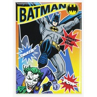 Batman Fighting The Joker FRIDGE MAGNET DC Comics Harley Quinn