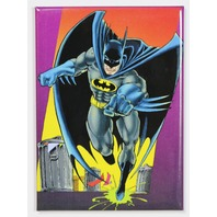 Batman FRIDGE MAGNET DC Comics Batmobile Gotham Comic Book Dark Knight