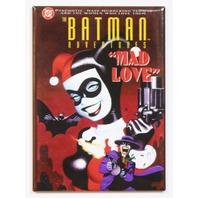 Batman Adventures Mad Love FRIDGE MAGNET DC Comics Joker Harley Quinn