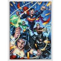 Justice League FRIDGE MAGNET DC Comics Batman Superman Wonder Woman Flash